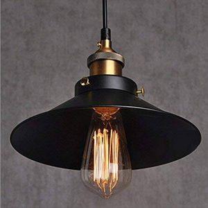 Suspension style industriel vintage pour éclairage de plafond de restaurant. Suspension luminaire avec base E27 de la marque Chrasy image 0 produit
