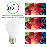 Svater Ampoule LED E27 Filament Edison 8W A60 Globe LED Forme Classique Ultra Clair A Cool Blanc 6000k Equivalent à Ampoule Incandescente 80W 360 Degrés Non Dimmable,Lot de 6 [Classe Energétique A +] de la marque Svater image 4 produit