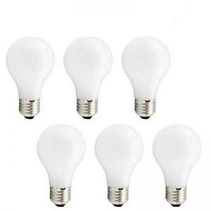 Svater Ampoule LED E27 Filament Edison 8W A60 Globe LED Forme Classique Ultra Clair A Cool Blanc 6000k Equivalent à Ampoule Incandescente 80W 360 Degrés Non Dimmable,Lot de 6 [Classe Energétique A +] de la marque Svater image 0 produit