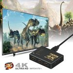 Switch HDMI, GANA HDMI Splitter | Sélecteur HDMI 5 Entrées 1 Sortie 1080P 3D Adaptateur HDMI Splitter HDMI Commutateur avec Télécommande IR pour PS3 Xbox 360 Lecteur DVD HDTV Projecteur Camcorder HTPC Tablette de la marque GANA image 1 produit