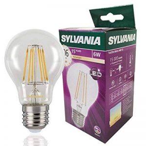 Sylvania Ampoule LED Filament 6W Ampoule à Incandescence Clair E27Verre de la marque Sylvania image 0 produit