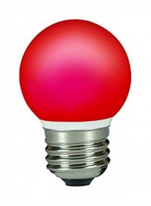 Sylvania SYL0026887 Ampoule Toledo Ball LED couleur 0.5 W, 240 V, Rouge de la marque Sylvania image 0 produit