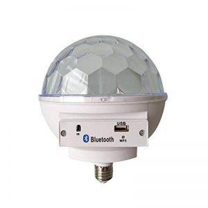 Symboat LED Portable Bluetooth de l'ampoule LED Speaker Portable RGB pour la maison de la Chambre ¨¤ coucher de la marque Symboat image 0 produit