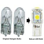 T10 LED Ampoules de voiture lampe 168 194 W5W 5 SMD 5050 6000K LED remplacement 6000K Pure White pour Voiture Lampes de lecture de plaques d'immatriculation Lumières Lampes MA7 de la marque BeiLan image 3 produit
