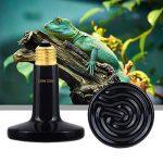 TAMAYKIM AC 220V 150W Noir Céramique Émetteur Radiateur Animaux Lampe de Reptile Ampoule de la marque TAMAYKIM image 3 produit