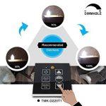 TAMAYKIM C35 6W Dimmable Ampoule Filament LED - 4000K Blanc Neutre 600 Lumen - 6 Watts Consommés - Équivalent 60W - Culot B22 - Forme Torpedo - Angle de Faisceau 360° - Lot de 6 de la marque TAMAYKIM image 4 produit