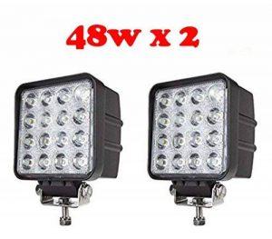 Tanli Feu diurne à LED pour véhicules utilitaires, tout terrain et véhicule de loisirs 48 W 2pièces de la marque Tan LED image 0 produit