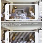 Tebio 12 W LED Maïs ampoules, E27, 100W Ampoule à incandescence équivalent, 3000K Blanc Chaud, 1200LM, Cri>80 +, Petit culot à vis, non dimmable, Chandelier ampoules LED(4 PCS) de la marque Tebio image 4 produit