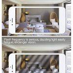 Tebio 12 W LED Maïs ampoules, E27, 100W Ampoule à incandescence équivalent, 6000K Blanc Froid, 1200LM, Cri>80 +, Petit culot à vis, non dimmable, Chandelier ampoules LED(4 PCS) de la marque Tebio image 4 produit