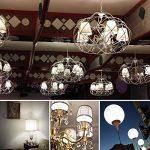 Tebio 12 W LED Maïs ampoules, E27, 100W Ampoule à incandescence équivalent, 6000K Blanc Froid, 1200LM, Cri>80 +, Petit culot à vis, non dimmable, Chandelier ampoules LED(4 PCS) de la marque Tebio image 2 produit