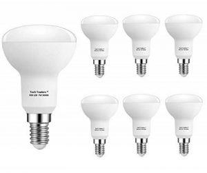 Tech Traders Ampoules LED Réflecteur R50, E14, 7W, Blanc chaud, Lot de 6 de la marque Tech Traders image 0 produit