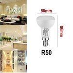 Tech Traders Ampoules LED Réflecteur R50, E14, 7W, Blanc chaud, Lot de 6 de la marque Tech Traders image 1 produit