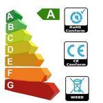 Tech Traders Ampoules LED Réflecteur R50, E14, 7W, Blanc chaud, Lot de 6 de la marque Tech Traders image 3 produit