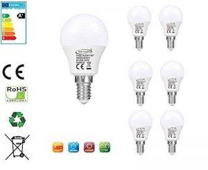 Tech Traders P45Ampoules LED en balle de golf, E14, 5W, Blanc chaud. de la marque Tech Traders image 0 produit