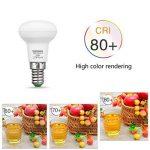 Techgomade 3W Ampoule LED E14, R39Ampoule à incandescence pour éclairage de la maison Blanc Chaud 3000K, équivalent à 25W, 300LM, angle de faisceau 120degrés, non dimmable, Lot de 6 de la marque TECHGOMADE image 1 produit