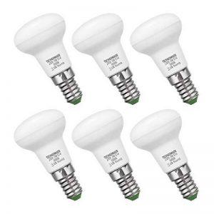 Techgomade 3W Ampoule LED E14, R39Ampoule à incandescence pour éclairage de la maison Blanc Chaud 3000K, équivalent à 25W, 300LM, angle de faisceau 120degrés, non dimmable, Lot de 6 de la marque TECHGOMADE image 0 produit