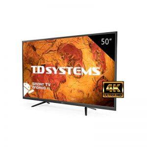 Téléviseur 50 Pouces LED Ultra HD 4K Smart TD Systems K50DLY8US. Résolution 3840 x 2160, 3X HDMI, VGA, 2X USB, Smart TV. de la marque TD Systems image 0 produit