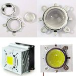 Tesfish Ventilateur de refroidissement de dissipateur en aluminium + lentille de 44mm 60 degrés pour 50W 100W LED Chip de la marque Tesfish image 3 produit