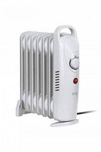 Tessa TSA8029 Teesa Radiateur à huile électrique mobile 800 W 7 cônes thermostat, protection contre la surchauffe, avec pieds Blanc de la marque Tessa image 0 produit
