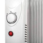 Tessa TSA8029 Teesa Radiateur à huile électrique mobile 800 W 7 cônes thermostat, protection contre la surchauffe, avec pieds Blanc de la marque Tessa image 1 produit