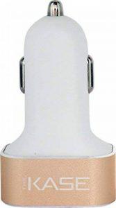The Kase Collection Chargeur allume-cigare triple USB pour Smartphones et Tablettes 5.1A, Or Taille unique, gold de la marque The Kase Collection image 0 produit