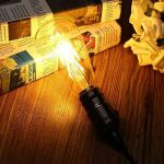 THINKMORE Ampoule LED E27 Filament ST64 Blanc Chaud 2200K 220 VAC 8W Équivalent 60W Ampoule à Incandescence Décoration & Lampes d'atmosphère Doré de la marque THINKMORE image 4 produit