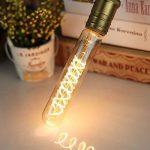 Tianfan T28 185 mm spirale ampoule LED vintage type ampoule 4 W 220 V Dimmable E27 Base de la marque TIANFAN image 1 produit