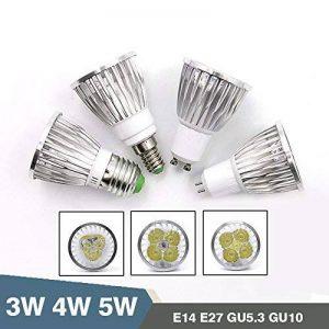 TIANLIANG04 Super bright LED spotlight Lampe 3W 4W 5W 85~265V E27 haute qualité E14 SPOT GU5.3 GU10 blanc chaud ampoule LED,GU53-4W de la marque TIANLIANG04 image 0 produit