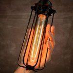 TINS Retro Edison Ampoule Vintage T185 Ampoule 25W E27 Blanc chaud Grande Ampoule Vintage et Ampoule Antique, Ampoule de Style éclairage industriel, 2 Paquets de la marque TINS image 4 produit