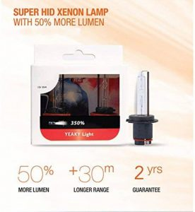TMT LEDs (TM) 2ampoules HID Xenon D2S 35W 5500K Blanc Remplacement 2ans Garantie première qualité pour toutes les marques de la marque Unipower image 0 produit