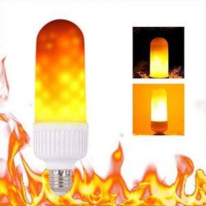 Tomshine E27 LED Flamme, Fire Effet Ampoule Lampe Scintillant Lumineux/Gardez l Flamme Mode SMD2835 Flamme lumière d'ambiance Lampe pour Noël, Party,d'extérieur [Classe énergétique A+] de la marque Tomshine image 0 produit