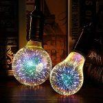 TOOGOO Ampoule a Led Ampoule de decoration 3D 110V 220V E27 Lumieres de vacances Lampe de Noel Nouveaute Lampes (G95) de la marque TOOGOO image 2 produit