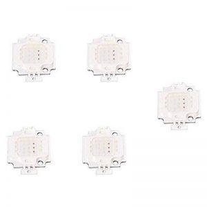 TOOGOO(R) 5x Haute Puissance 10W LED RGB puce Ampoule lampe de projecteur lumiere DIY de la marque TOOGOO(R) image 0 produit