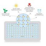 TOPLANET 600W Lampe pour Plante Culture LED Full Spectrum 120 * 5W Horticole Floraison Blanc Chaud pour Indoor Grow Box pour plante fruit végétale de la marque TOPLANET image 2 produit