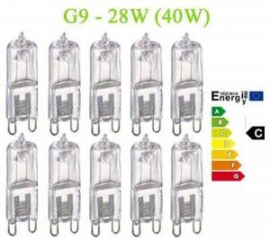 Trango ® de 10 à intensité variable 28Watt eco energy saver au lieu de 40 w ampoules spot halogène culot g9 de la marque Trango image 0 produit