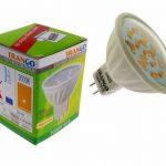 Trango ® à intensité variable avec culot gU5.3 mR16 lot de 12 lampe lED blanc chaud ampoules lED sMD angle d'éclairage 120° tGMR1615 de la marque Trango image 1 produit