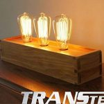 TRANSTEC® 4X Ampoule Rétro ST64 B22 60W Ampoule Edison Déco à Filament Antique Vintage Incandescence - 230V 2700K Blanc Chaud Dimmable - En Cage d'écure à Filament - Industrial Style - [Classe énergétique A] de la marque Transtec image 1 produit