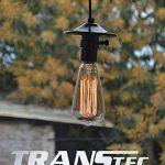 TRANSTEC® 4X Ampoule Rétro ST64 B22 60W Ampoule Edison Déco à Filament Antique Vintage Incandescence - 230V 2700K Blanc Chaud Dimmable - En Cage d'écure à Filament - Industrial Style - [Classe énergétique A] de la marque Transtec image 2 produit