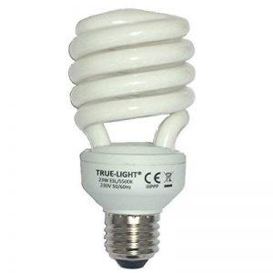 True-Light 23W - L'ampoule lumière du jour originale - Spectre complet 5500K IRC 95 de la marque True-Light image 0 produit