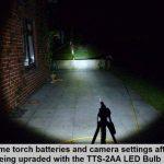 TTS-2AA CREE Mini Maglite Torche lampe de poche éclairage Flash Focussable 1 Watt LED Mise à niveau Ampoule de la marque The Torch Site image 2 produit