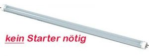 tube LED T8 [Aucun Starter nécessaire.] Longueur 43,5 cm Puissance 7 W Lumen 900lm lumière de couleur 4500 K farbr Unité cri > 80 Diamètre 26 mm Culot G13 Opaque Cover [Classe énergétique A++] de la marque PandaCom image 0 produit