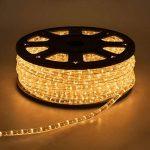 Tube lumineux d'extérieur en rouleau, ampoule à incandescence, cordon de 13 mm, 230V, 50 m, lumière fixe de la marque LuminalPark image 3 produit