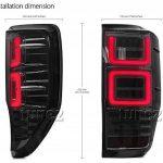 Tunez Frr08Fumé Séquentielle LED Feu arrière lampe arrière FR T6PX MK1MK2Tour Signal de la marque Tunez image 3 produit