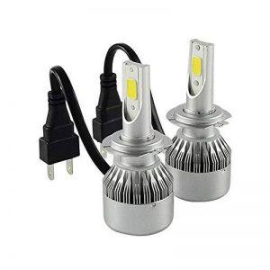TXVSO8 H7 110W LED COB Kit Voiture Headlight 9200LM 6000K Lampes Blanc Ampoules, 55W/Bulb, 2 Yr Warranty de la marque TXVSO8 image 0 produit