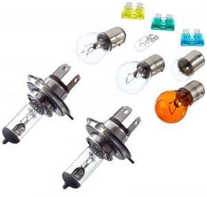 Unitec 73084 Coffret d'ampoules et fusibles de rechange H4 de la marque Unitec image 0 produit