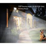 Ustellar Projecteur LED Extérieur Détecteur de Mouvement, 30W, IP66 Etanche, 2400 Lumens, 5000K Blanc, Eclairage de Sécurité, Luminaire Lampe Spot Murale Jardin Terrasse de la marque Ustellar image 2 produit