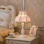 uus Lampes de chevet Lampes de chevet Salon de la maison européenne Lampe de table de luxe Hôtel Café Lampe de table de restaurant (Couleur : A) de la marque Uus image 4 produit