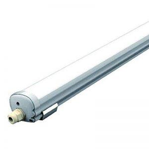 V-TAC SKU.6285 Etanche LED 120cm 36W Ip65 Vt-1249, Plastique et Autre Matériaux, Blanc, 1200 mm x 86 mm x 72 mm de la marque V-TAC image 0 produit