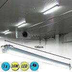V-TAC SKU.6285 Etanche LED 120cm 36W Ip65 Vt-1249, Plastique et Autre Matériaux, Blanc, 1200 mm x 86 mm x 72 mm de la marque V-TAC image 1 produit