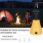 Vdealen Tente de LED Lampe, Lanterne de camping lampe lampe de secours Alimenté par batterie étanche ampoule Portable pour randonnée Pêche Camping Maison de voiture réparation de la marque Vdealen image 4 produit